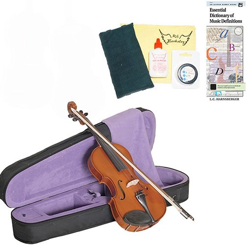 13'' Gigla European Viola 'GENIAL 2-Nitro' Viola Outfit w/Bonus Viola Care Kit Cleaning Kit Deluxe by Gigla Romania