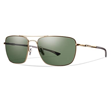 069d6389a13 Image Unavailable. Image not available for. Color  Smith Sunglasses - Nomad    Frame  Matte Gold Lens  Polarized Green ChromaPop Polarchromic