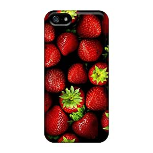 Hot Snap-on Strawberries 2 Hard Covers Cases/ Protective Cases For Iphone 5/5s