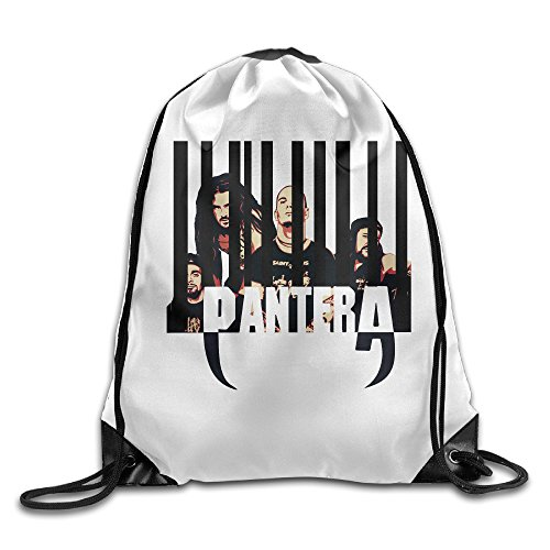 Heavy Metal Band Barcode GXGML Print Rucksack Bags Unisex Fashion Drawstring Shoulder Backpacks Hiking Backpack Casual Travel Bags Shoulder Pouch Beam Port Backpack Tote Canvas Bag Storage Bag One Sized White -