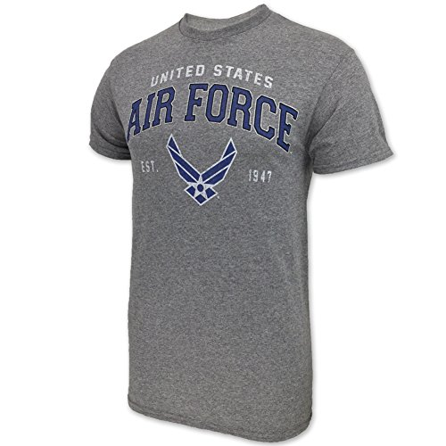 - Air Force Wings Est. 1947 T-Shirt, x-large, grey