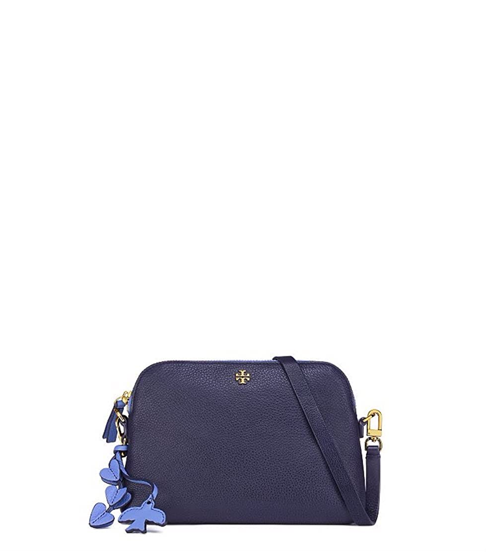 6ce93705072 Tory Burch Peace Pebbled Leather Crossbody (Tory Navy)  Amazon.ca  Shoes    Handbags