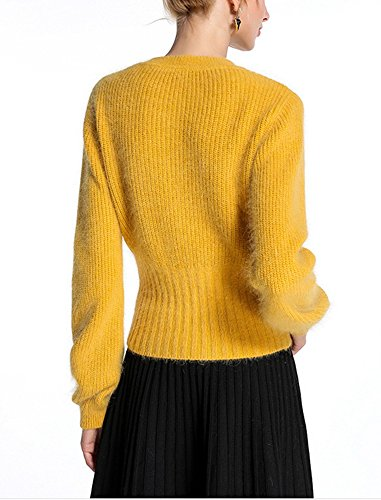 Col Rond Longues Over en Casual Laine Chemises sous Femme Tricot Veste Pull Tricot Pull Manches Pull YOSICIL Chaud qZxUCnHO