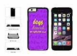 Best BleuReign Friend Iphone 6 And 6 Plus Cases - BleuReign(TM) Dogs Are A Girl's Best Friends Plastic Review