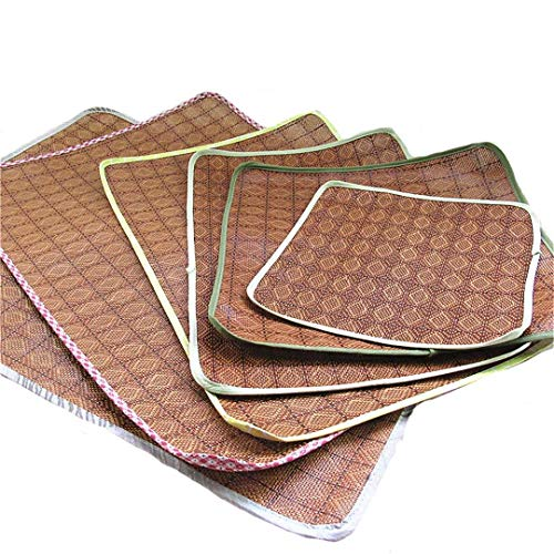 AIgouda Soft Fleece Pet Dog Bed Cushion Print Large Breed Dog Beds for Labrador Golden Retriever Summer Dog Mat Summer Mat L
