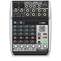 Behringer Xenyx Q802USB Premium 8-Input 2-Bus Mixer with USB/Audio Interface
