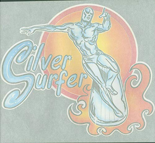the Silver Surfer NOS Vintage Iron On 1970