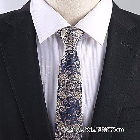 GENTLEE TIE Los Hombres versión Estrecha de la Corbata de ...