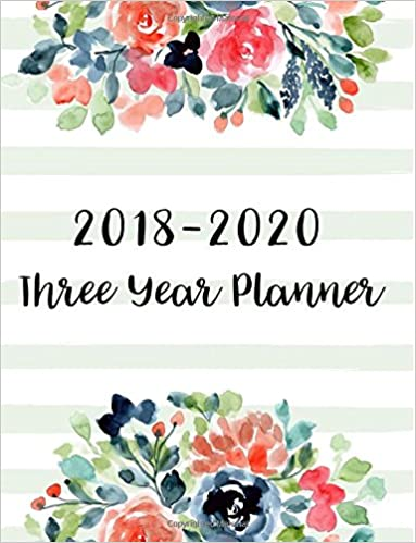 2 Year Pocket Calendar Pink Floral Flowers Cover Agenda Schedule Organizer Logbook and   Journal Notebook 2018-2019 Monthly Planner: 2018-2019 Two Year Monthly Pocket Planner