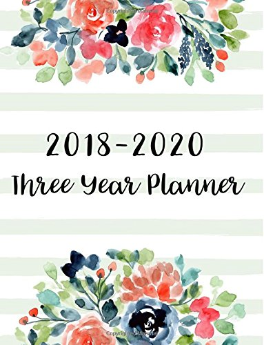 Pdf Arts 2018-2020 Three Year Planner: 36 Months Calendar Yearly Goals Monthly Task Checklist Organizer Agenda Schedule Logbook Appointment Notebook Personal ... Year Monthly Calendar Planner) (Volume 1)