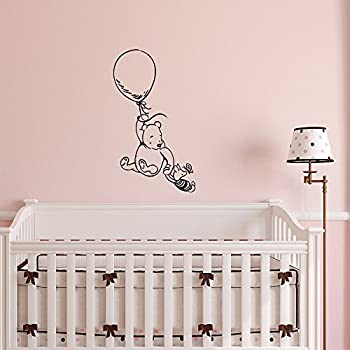 Winnie The Pooh Wall Decal Sticker  Classic Winnie The Pooh Nursery Wall  Decals  Pooh Part 34