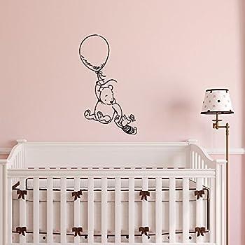 Winnie The Pooh Wall Decal Sticker  Classic Winnie The Pooh Nursery Wall  Decals  Pooh Part 34