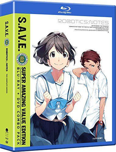 Blu-ray : Robotics;Notes: The Complete Series - S.A.V.E. (With DVD, 8 Disc)