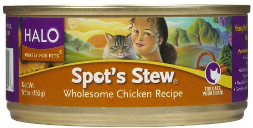 Halo Spot's Stew Cat Chicken Recipe - 12 x 5.5 oz