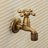 LINA@ Antique copper single cold washing machine tap , 2
