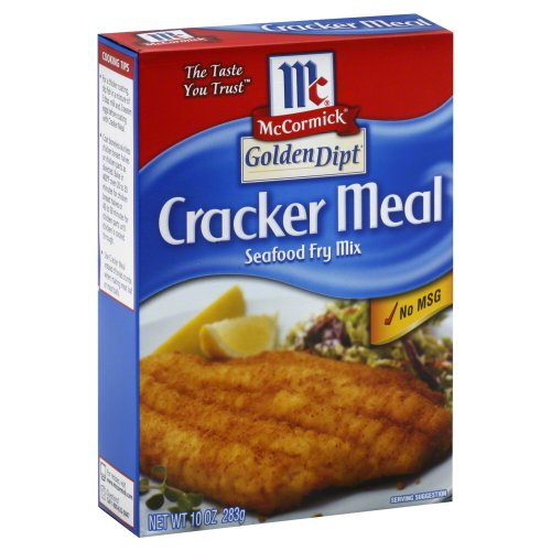 Golden Dipt Cracker Meal Fry Mix 10.0 OZ (Pack of 2) -