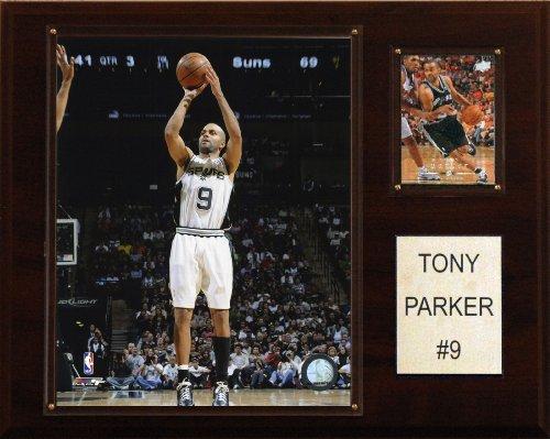 NBA Tony Parker San Antonio Spurs Player Plaque