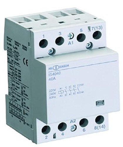 ABL Sursum Installationssch/ütz IS2540 230VAC,4S Installationssch/ütz f/ür Reiheneinbau 4011721070551