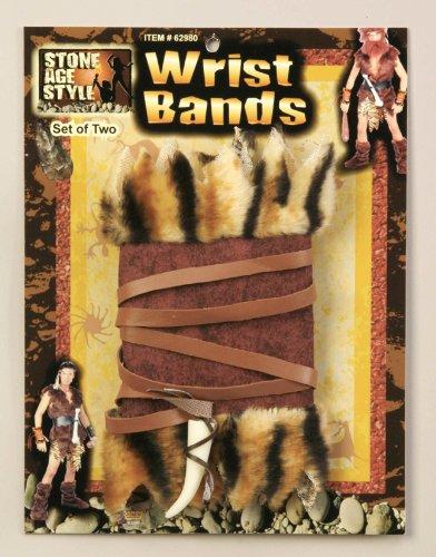 Forum Novelties 62989 Stone Age Wrist Cuffs(2/Pack)