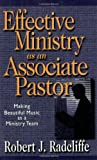 Effective Ministry as an Associate Pastor, Robert J. Radcliffe, 082543629X