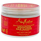 Shea Moisture Fruit Fusion Coconut Water Weightless Hair Masque, 12 Ounce