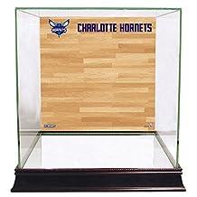 Charlotte Hornets Basketball Court Background Case