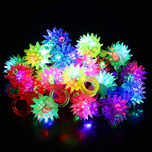 Fun Central I542, 24 Pcs, Assorted LED Jelly