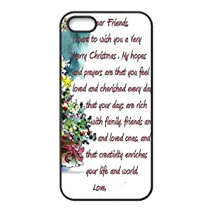 Christmas IPhone 5 5S Case, Customize Christmas Case for Iphone 5 5S