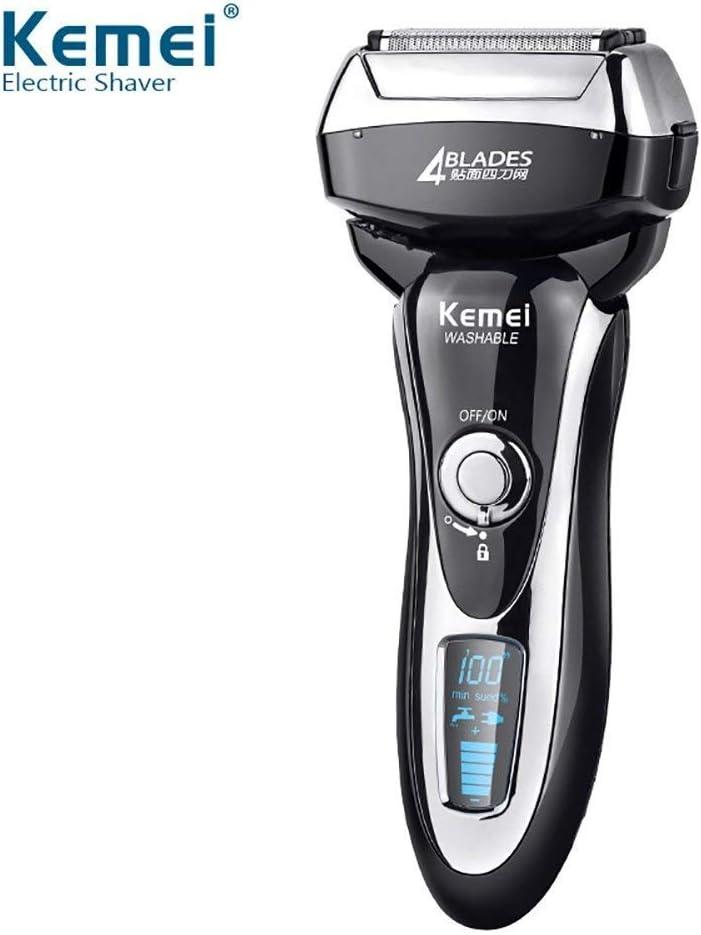 KM 5568 eléctrica afeitadora rápido carga todo el cuerpo lavable K ...