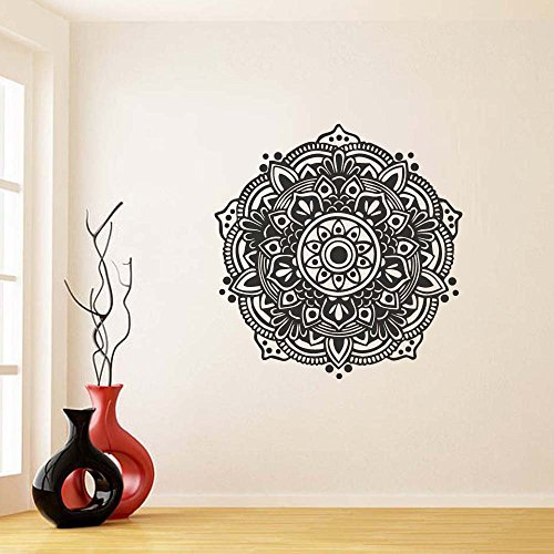 Amazon.com: Mandala Wall Decal- Mandala Decal- Yoga Studio ...
