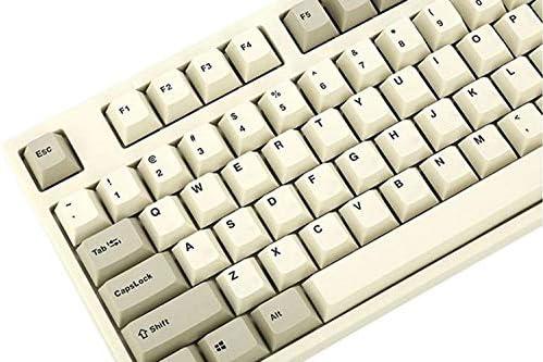 Keyboard Leopold FC900R Two Tone White PD Cherry MX Black