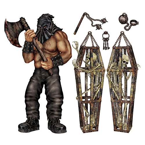 Club Pack of 36 Medieval Dungeon Dwellers Halloween Insta-Theme Decorative Props]()