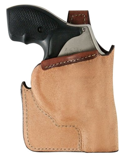 Bianchi 152 Pocket Piece Holster, Plain Tan, Right Hand - Ru