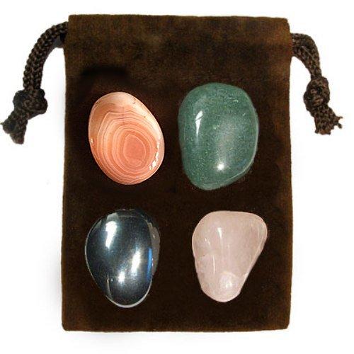 Gemstone ENERGY SET Crystal Healing - PEACE OF MIND