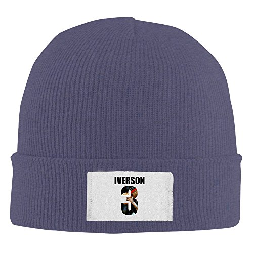 Amone Allen Iverson The Answers Winter Knitting Wool Warm Hat - Houston Ban Ray