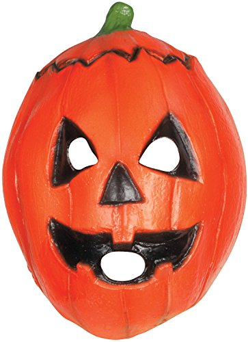 Trick or Treat Studios Men's Halloween III-Pumpkin Mask, Multi, One Size (Trick Or Treat Costumes)