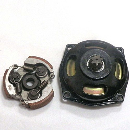 Sala-Ctr - Motorcycle Gear Box Drum Clutch Pad with Springs kit For 47cc 49cc Pocket Rocket Dirt Bike Mini ATV Moped Part ()