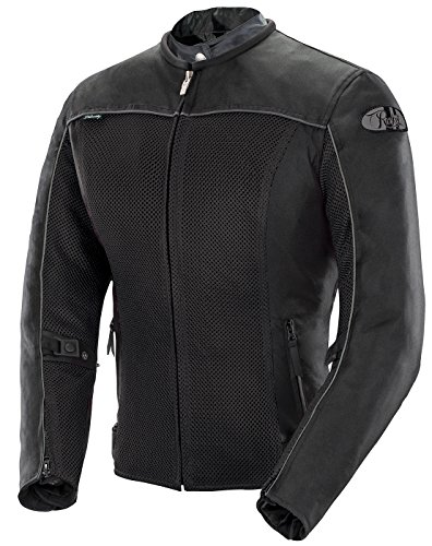 Joe Rocket Velocity Women's Mesh Motorcycle Jacket (Black, X-Large)