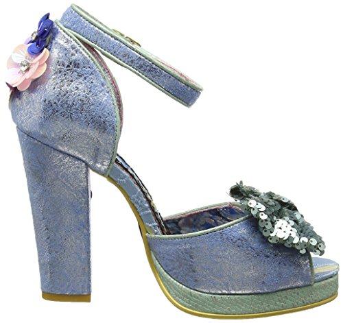 Mujer para Pulsera Spring Forward con Choice Sandalia Blue Azul A Irregular Pale n1wqZ0YB