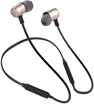 Auriculares Bluetooth para el cuello, nuevo C9X Smart AI Control de voz Auriculares Bluetooth magnéticos Auriculares con banda para el cuello deportivo, Auriculares inteligentes con Bluetooth(Oro): Amazon.es: Electrónica