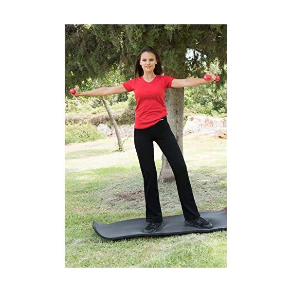 Nirlon Bootcut Yoga Pants High Waist Black Workout Leggings For Women Plus Size