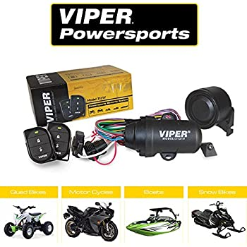Directed Electronics Viper 3121V Powersport Alarm Comes with Two Compact, Waterproof, 2-Button Remotes Perfect for Your ATV/UTV, Watercraft, or ...
