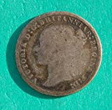 1873 UK Victoria Pence Fair