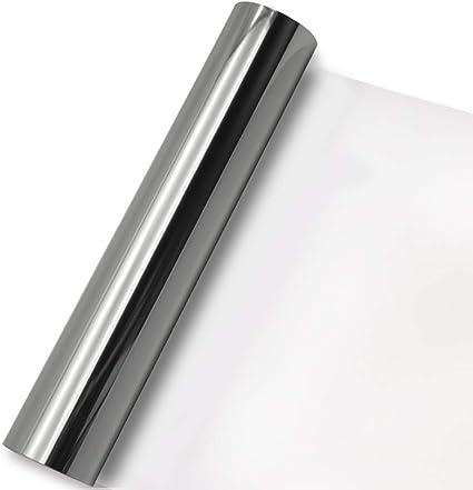HTV Iron-on Metallic Heat Transfer Vinyl sheet 20cm x 25cm Crafting Cricut Foil