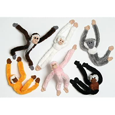 15cm Magnetic Monkey Soft Toy / Decoration - 1 Supplied At Random: Toys & Games