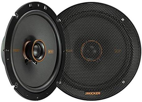 Kicker 47KSC6704 Automobile Audio 6 3/4″ Coaxial 400W Peak Full Vary Audio system KSC6704