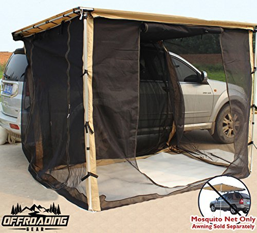 Mosquito Net Mesh Enclosure Only for Offroading Gear 6.5 L x 8 W Awning