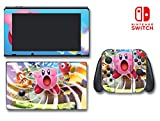 Kirby's Blowout Blast King Dedede Video Game Vinyl Decal Skin Sticker Cover for Nintendo Switch Console System