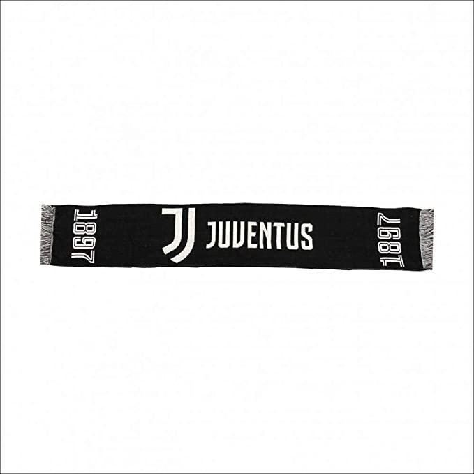 JJ11 /Écharpe Juventus Juve officielle Jackard noire