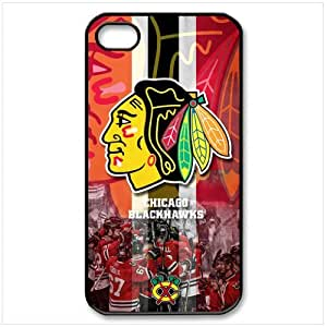 NHL chicago blackhawks iPhone 4 4S Full protection Durable Case Cover